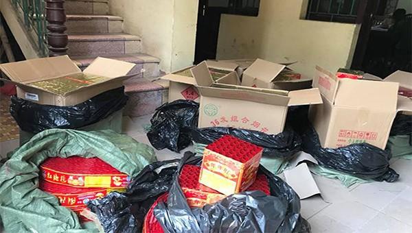 Trên địa bàn tỉnh Bắc Giang thường xuyên phát hiện các vụ vận chuyển pháo nổ trái phép.