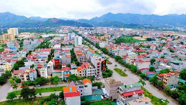 Một góc thành phố Hòa Bình