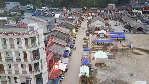 """Xây dựng thị trấn Đồng Văn thành """"địa chỉ đỏ"""" thu hút ở vùng cao Hà Giang"""