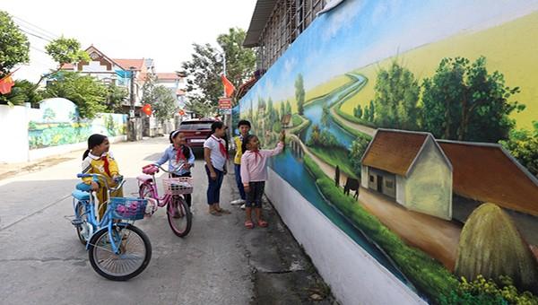 Vĩnh Phúc: Phấn đấu cuối năm 2020 có 2 xã đạt chuẩn Nông thôn mới nâng cao, thôn dân cư kiểu mẫu