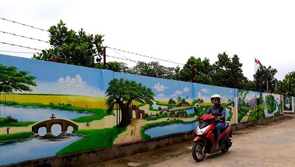 Huyện Vĩnh Tường (Vĩnh Phúc) phấn đấu xây dựng nông thôn mới nâng cao