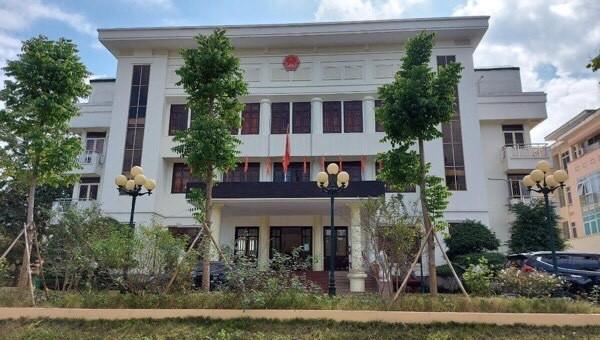 Trụ sở UBND huyện Cao Lộc, tỉnh Lạng Sơn