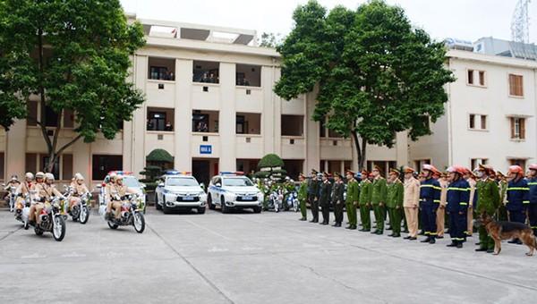 Công an tỉnh Thái Nguyên ra quân đợt cao điểm tấn công, trấn áp tội phạm