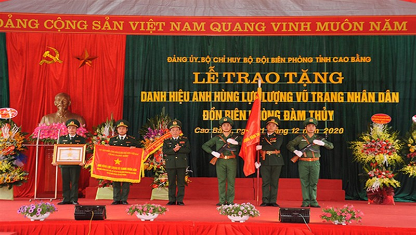 ĐBP Đàm Thuỷ: Điểm tựa tinh thần vững chắc người lính quân hàm xanh
