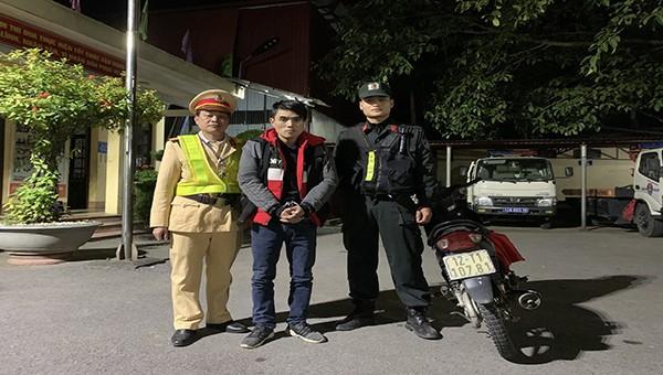 CSGT Lạng Sơn bắt giữ đối tượng trộm cắp xe gắn máy