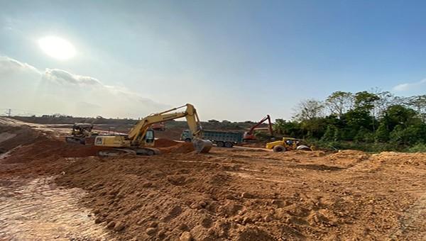 Vĩnh Tường (Vĩnh Phúc): Cưỡng chế thu hồi gần 1.000 m2 đất để nâng cấp đường giao thông