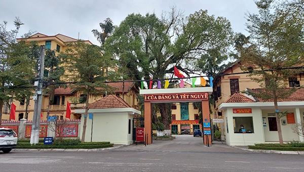 Trụ sở Công an tỉnh Lạng Sơn.