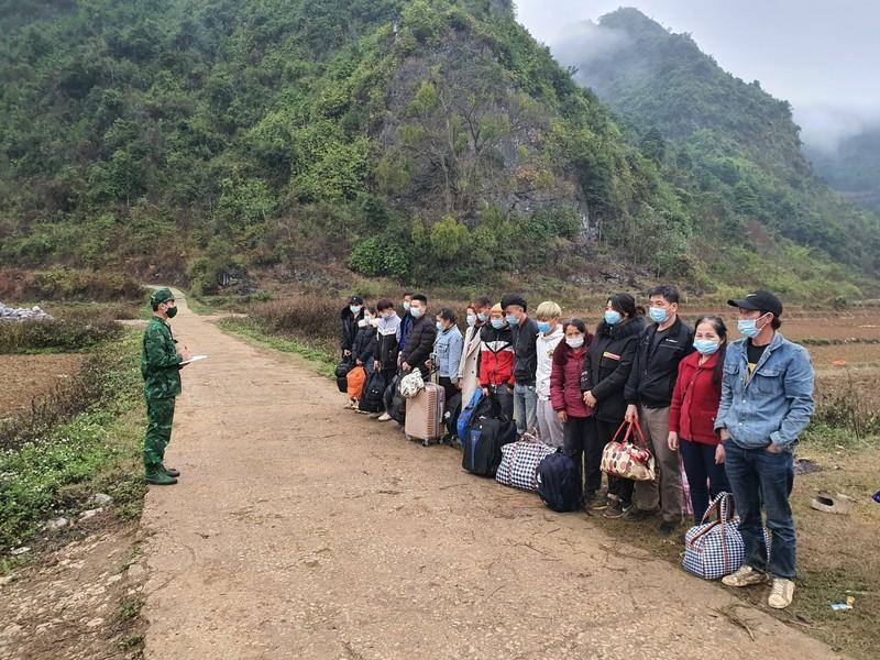 Phát hiện 16 người vào Việt Nam trái phép qua biên giới