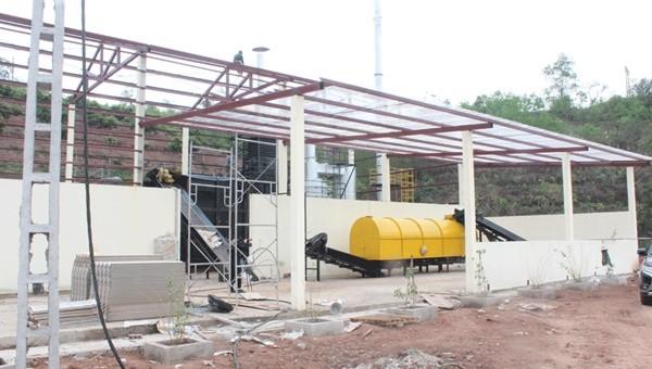 Lắp đặt lò đốt rác thải tại huyện Lục Ngạn