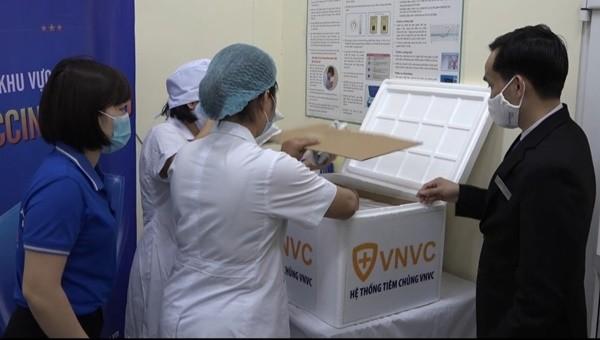 Bắc Giang tiếp nhận hơn gần 2500 liều Vaccine phòng Covid-19