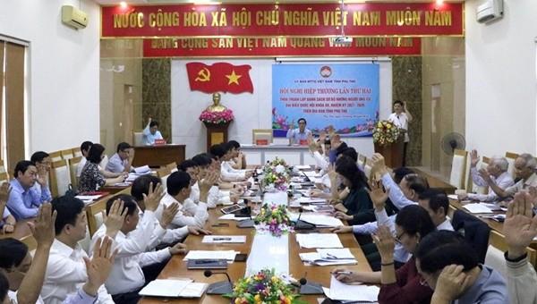 Phú Thọ có 12 ứng cử viên ĐBQH khóa XV