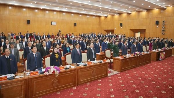 HĐND tỉnh Thái Nguyên khóa XIII tổng kết nhiệm kỳ 2016 - 2021