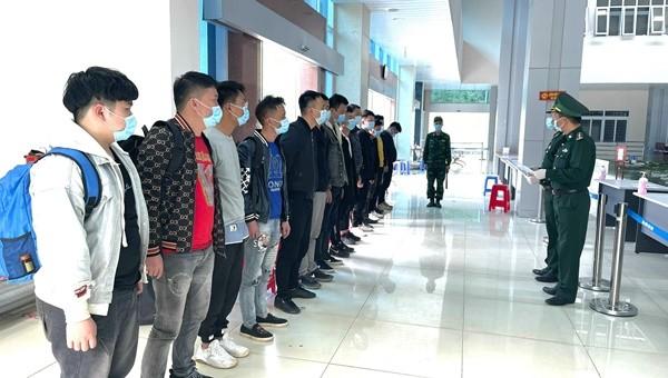 Đồn Biên phòng Trà Lĩnh bắt giữ 4 vụ xuất, nhập cảnh trái phép