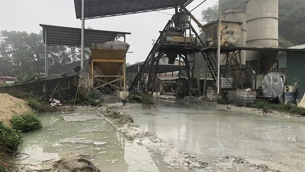 Yên Bái: Ngán ngẩm việc Trạm trộn bê tông Đồng Tâm Xanh gây ô nhiễm môi trường