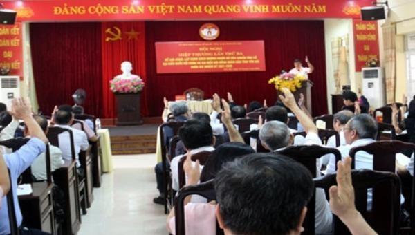 Yên Bái giới thiệu 8 người ứng cử Đại biểu Quốc hội khoá XV