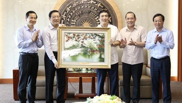 Trưởng Ban Nội chính Trung ương làm việc với tỉnh Phú Thọ