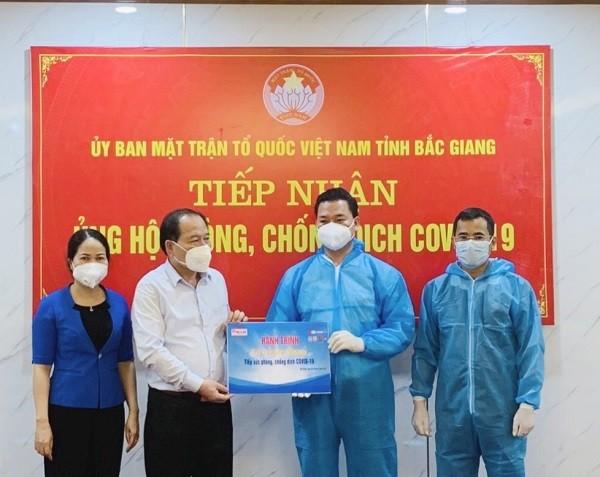 Báo Pháp luật Việt Nam tiếp sức Bắc Giang vượt qua đại dịch