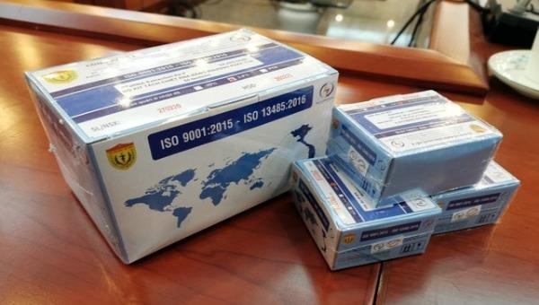 Việt Nam chính thức sản xuât và lưu hành bộ kít test Covid-19 với giá 400 -600.000 đồng/bộ kit