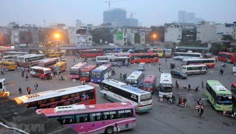 Bến Hà Nội miễn phí dịch vụ cho nhà xe vắng khách do dịch Covid - 19