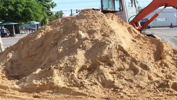 Không xuất khẩu mọi loại cát ra nước ngoài
