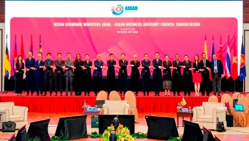 Hội nghị Bộ trưởng Kinh tế ASEAN hẹp lần thứ 26 ngày 10/3/2020 tại Đà Nẵng, Việt Nam.
