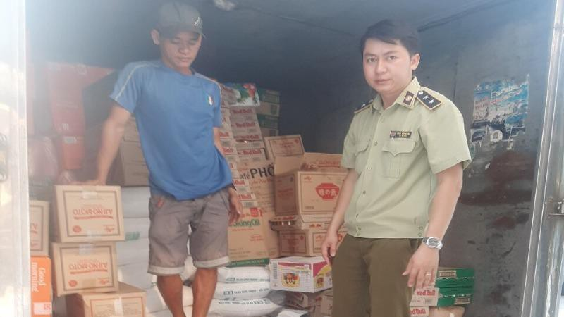 Phát hiện xử lý gần 2 tấn đường cát nhập lậu tại Bình Phước