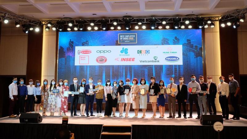 Vietcombank dẫn đầu Top Thương hiệu Nhà tuyển dụng hấp dẫn nhất với sinh viên Việt Nam 2020
