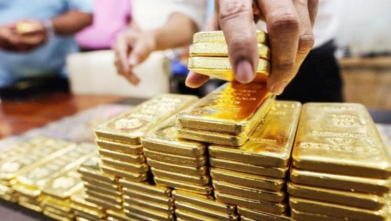 Đầu tuần, giá vàng trong nước đi ngang