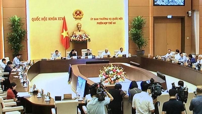 Sáng nay -13/7, Ủy ban Thường vụ Quốc hội khai mạc phiên họp 46 (Ảnh: Nguyễn Hoàng).