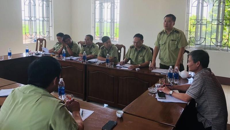 Xử phạt gần 155 triệu đồng các vi phạm giả mạo nhãn hiệu tại thị trấn Thổ Tang