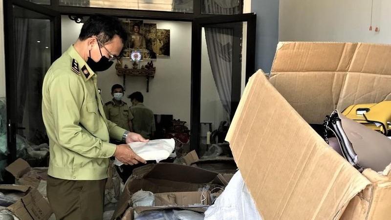 """Đội QLTT 3, Cục QLTT Quảng Nam kiểm tra tại địa chỉ kinh doanh có tên tài khoản """"Nguyen Sang""""."""