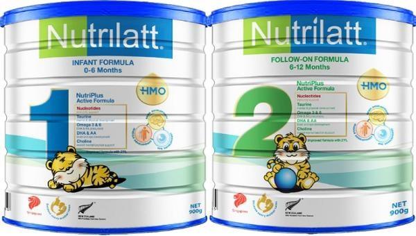 Nhiều lô sữa Nutrilatt 1 và 2 bị cảnh báo có hàm lượng sắt, kẽm thấp hơn công bố.