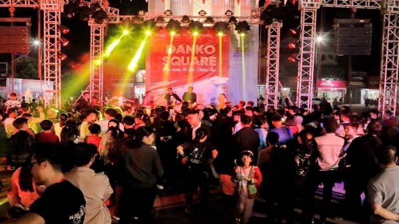 Không gian Danko Square – Lễ hội phong cách Châu Âu lần đầu tiên có mặt tại Thái Nguyên.