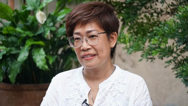 Chị Lương Ngọc Vân Anh. (Ảnh: Bách Hợp).