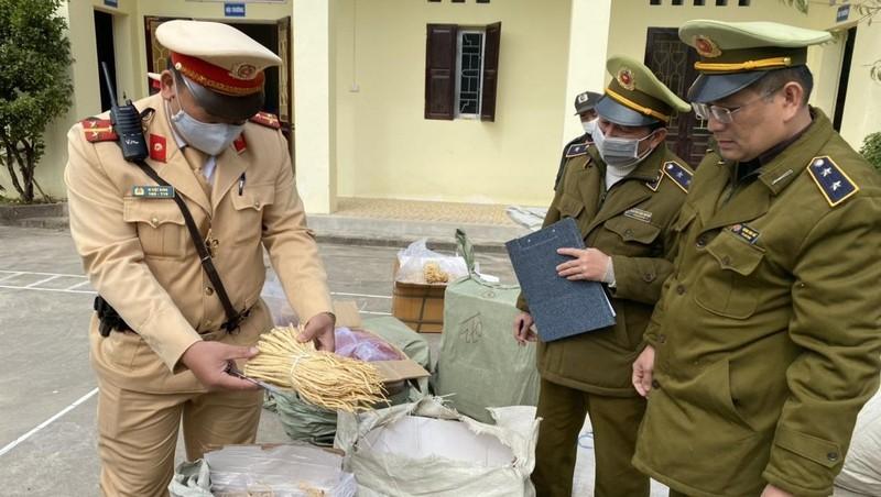 Chặn đứng hơn 1,2 tấn dược liệu nhập lậu tại Lạng Sơn