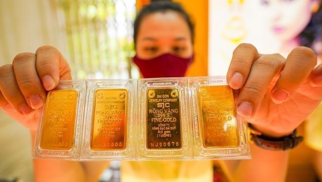 Đầu tuần, giá vàng tiến sát mốc 1.920 USD/ounce