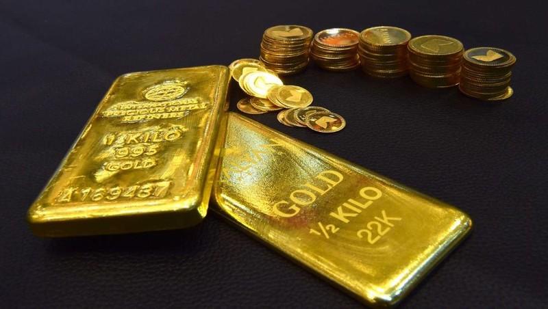 Giá vàng tăng mạnh, thêm nửa triệu đồng/lượng