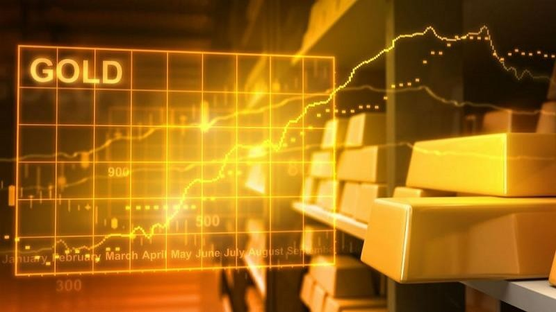 """Giá vàng thế giới sắp chạm """"đỉnh"""" mới?"""