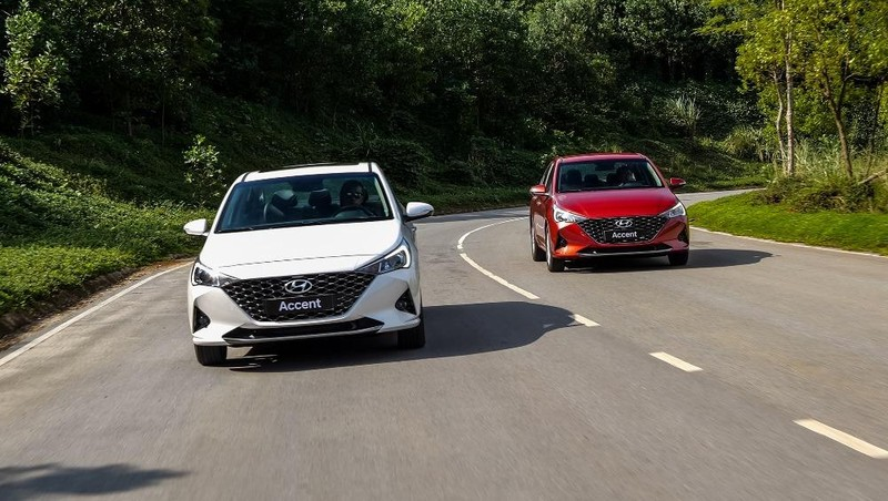 Hyundai Accent trở lại vị trí số 1 về doanh số bán hàng
