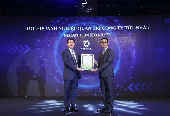 Vinamilk 'bội thu' giải thưởng về quản trị công ty - ảnh 3