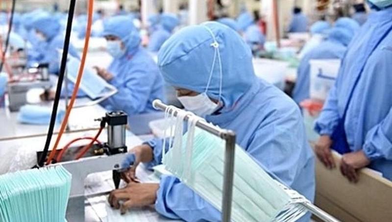 Tháng 1, xuất khẩu gần 65 triệu chiếc khẩu trang y tế các loại