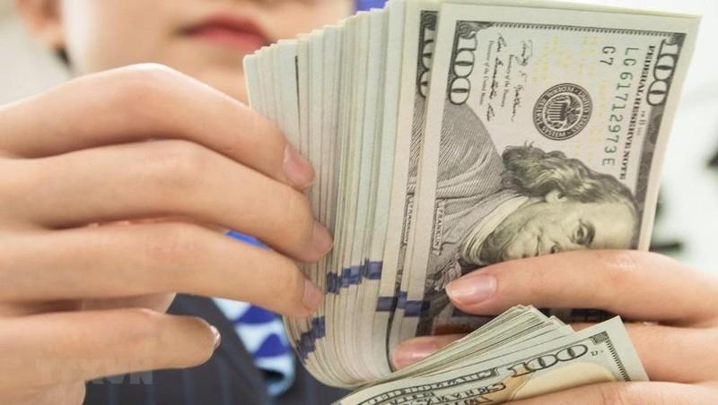 Sáng 18/2, tỷ giá trung tâm tăng, USD trong ngân hàng thương mại giảm