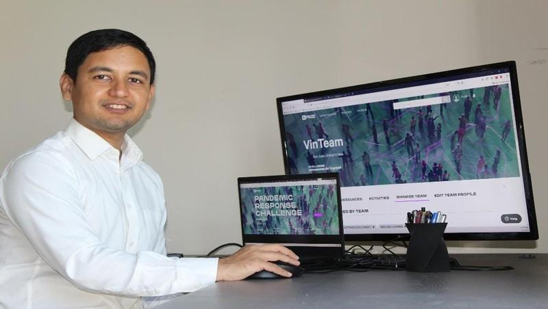 Ông Mudit Jain – Phó Tổng Giám đốc phụ trách Khối Phát triển Sản phẩm của VinBrain tại Hoa Kỳ.