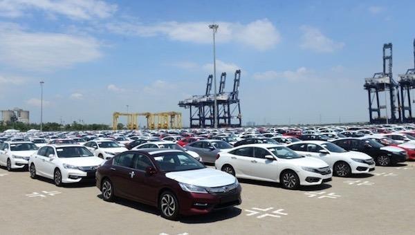 Đấu giá hạn ngạch thuế quan nhập khẩu 72 chiếc ô tô đã qua sử dụng