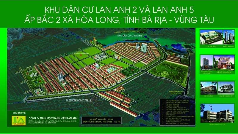 Dự án Lan Anh 2 và Lan Anh 5 – Cú hích mới năm 2021 tại  tỉnh Bà Rịa - Vũng Tàu