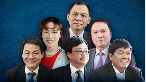 6 tỷ phú USD Việt Nam trong danh sách toàn cầu, họ là ai?