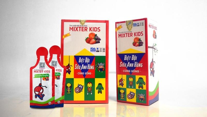 Bé khỏe, mẹ vui nhờ Mixter Kids