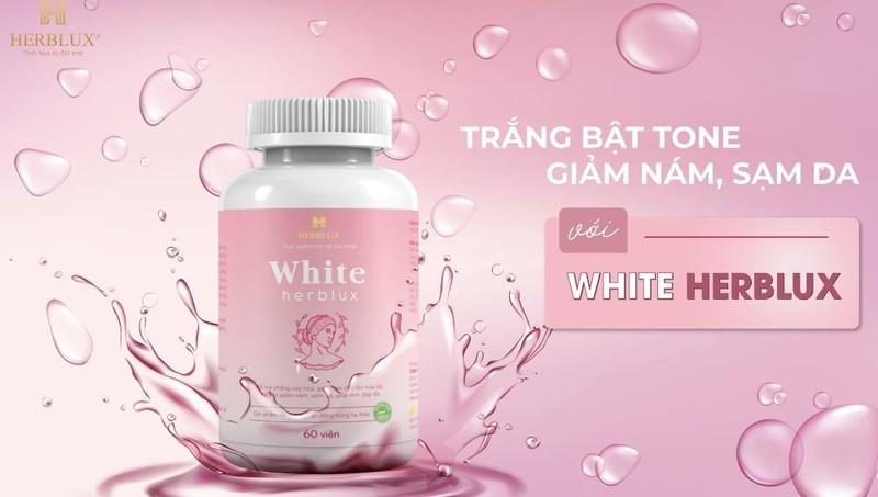 Viên uống White Herblux có tốt như quảng cáo?