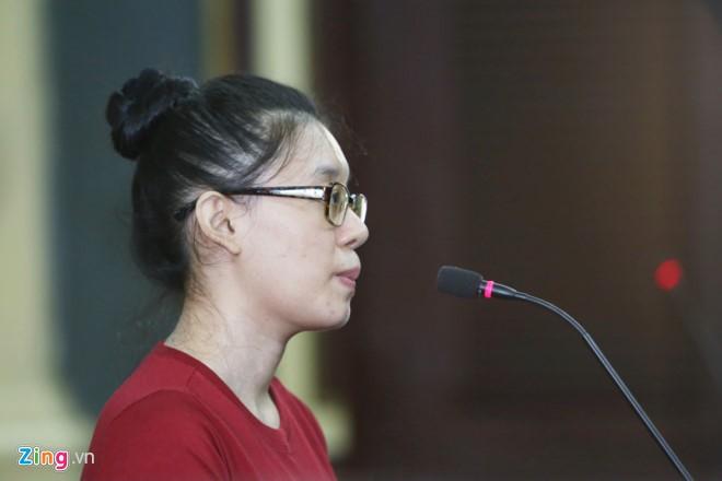 Bị cáo Nguyễn Đức Thùy Dung. Ảnh Zing.vn