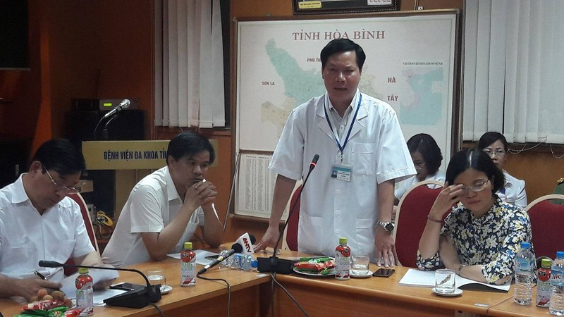 100% thành viên đề nghị cách chức Giám đốc BVĐK Hòa Bình
